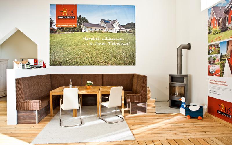 Foto der Talis Ausstellungshalle